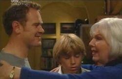 Max Hoyland, Rosie Hoyland, Boyd Hoyland in Neighbours Episode 4094
