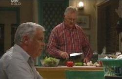 Harold Bishop, Lou Carpenter in Neighbours Episode 4094
