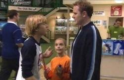 Max Hoyland, Boyd Hoyland, Summer Hoyland in Neighbours Episode 4095