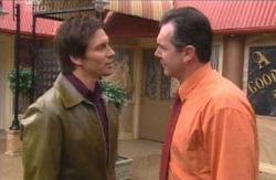 Darcy Tyler, Karl Kennedy in Neighbours Episode 4096
