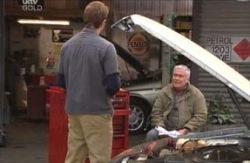 Stuart Parker, Lou Carpenter in Neighbours Episode 4096