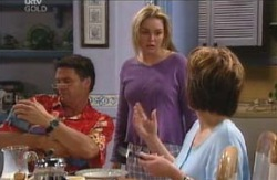 Joe Scully, Michelle Scully, Lyn Scully in Neighbours Episode 4097