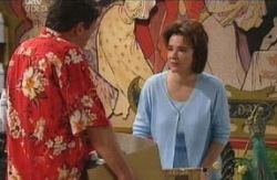 Lyn Scully, Joe Scully in Neighbours Episode 4097
