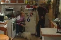 Angie Rebecchi, Bob, Kevin Rebecchi in Neighbours Episode 4112