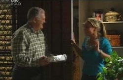 Harold Bishop, Michelle Scully in Neighbours Episode 4112