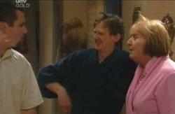 Toadie Rebecchi, Kevin Rebecchi, Angie Rebecchi in Neighbours Episode 4112