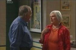 Harold Bishop, Rosie Hoyland in Neighbours Episode 4114
