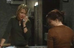 Steph Scully, Libby Kennedy in Neighbours Episode 4114