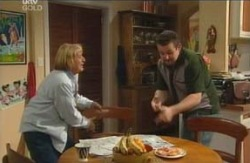 Angie Rebecchi, Toadie Rebecchi in Neighbours Episode 4115