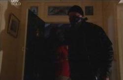 Burglar in Neighbours Episode 4116