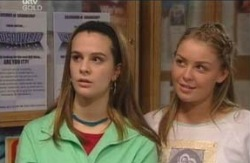 Tahnee Coppin, Michelle Scully in Neighbours Episode 4118