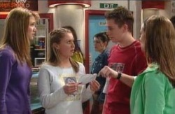 Nina Tucker, Michelle Scully, Connor O