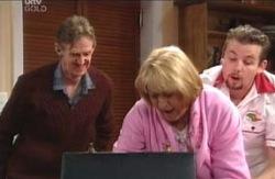 Kevin Rebecchi, Angie Rebecchi, Toadie Rebecchi in Neighbours Episode 4118