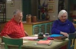 Harold Bishop, Rosie Hoyland in Neighbours Episode 4119