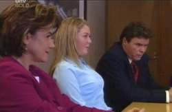 Lyn Scully, Michelle Scully, Joe Scully in Neighbours Episode 4119