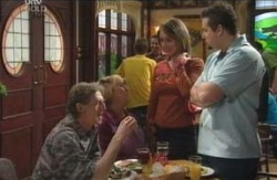 Kevin Rebecchi, Angie Rebecchi, Sheena Wilson, Toadie Rebecchi in Neighbours Episode 4121