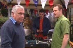Toadie Rebecchi, Max Hoyland, Lou Carpenter in Neighbours Episode 4123