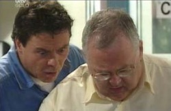 Joe Scully, Harold Bishop in Neighbours Episode 4124