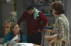 Michelle Scully, Joe Scully, Lyn Scully in Neighbours Episode 4125