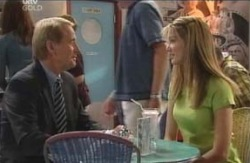 Glenn Wheatley, Nina Tucker in Neighbours Episode 4125