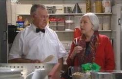 Harold Bishop, Rosie Hoyland in Neighbours Episode 4126