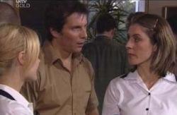 Sheena Wilson, Darcy Tyler, Dee Bliss in Neighbours Episode 4127
