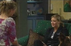 Michelle Scully, Felicity Scully in Neighbours Episode 4128