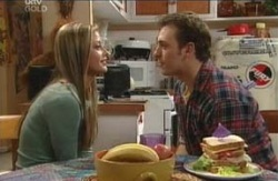 Felicity Scully, Stuart Parker in Neighbours Episode 4128