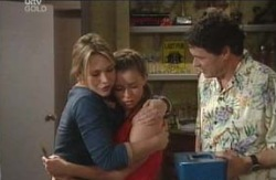 Steph Scully, Michelle Scully, Joe Scully in Neighbours Episode 4129