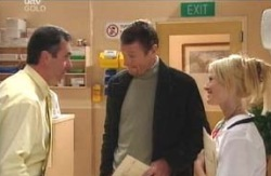 Karl Kennedy, Martin Cook, Dee Bliss in Neighbours Episode 4131