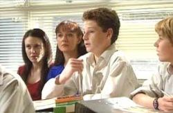 Libby Kennedy, Susan Kennedy, Daniel Clohesy, Boyd Hoyland in Neighbours Episode 4131