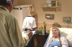 Karl Kennedy, Dee Bliss, Rose Belker in Neighbours Episode 4131