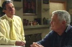 Karl Kennedy, Lou Carpenter in Neighbours Episode 4131