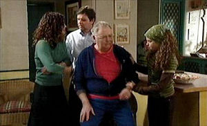 Liljana Bishop, David Bishop, Harold Bishop, Serena Bishop in Neighbours Episode 4404