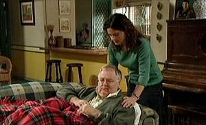 Liljana Bishop, Harold Bishop in Neighbours Episode 4404