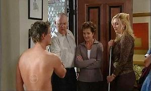 Ned Parker, Harold Bishop, Susan Kennedy, Janelle Timmins in Neighbours Episode 4799