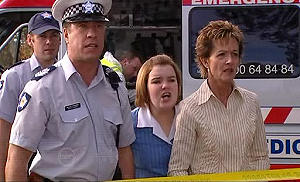 Allan Steiger, Bree Timmins, Susan Kennedy in Neighbours Episode 4801