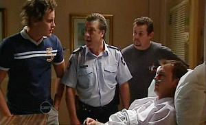 Ned Parker, Allan Steiger, Toadie Rebecchi, Stuart Parker in Neighbours Episode 4801