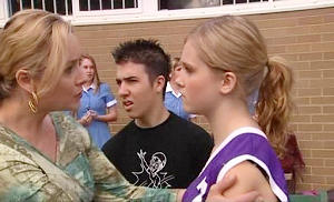 Janelle Timmins, Stingray Timmins, Janae Timmins in Neighbours Episode 4802