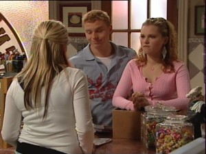Boyd Hoyland, Janae Timmins in Neighbours Episode 4862
