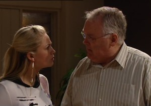 Harold Bishop, Sky Mangel in Neighbours Episode 4862