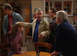 Ned Parker, Elle Robinson, Gino Esposito, Toadie Rebecchi, Lou Carpenter in Neighbours Episode 4863