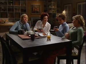 Janelle Timmins, Lyn Scully, Susan Kennedy, Steph Scully in Neighbours Episode 4865