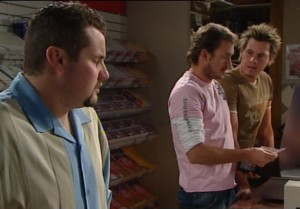 Toadie Rebecchi, Stuart Parker, Ned Parker in Neighbours Episode 4866