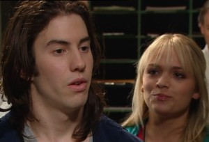 Dylan Timmins, Sky Mangel in Neighbours Episode 4867