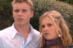 Boyd Hoyland, Janae Timmins in Neighbours Episode 4902