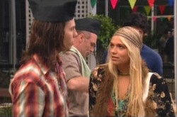 Dylan Timmins, Lyn Scully, Kim Timmins in Neighbours Episode 4906