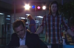 Paul Robinson, Dylan Timmins in Neighbours Episode 4907