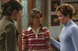 Katya Kinski, Rachel Kinski, Susan Kennedy in Neighbours Episode 4908