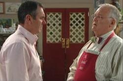 Harold Bishop, Karl Kennedy in Neighbours Episode 4909